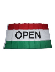 Open Flag - Red/White/Green (BA-800G)