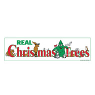 Real Christmas Trees Banner (BA-830)