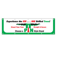 Drilled Trees Banner (BA-832)