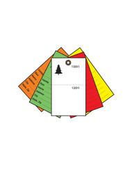 5-Color Secure Perma-Fiber Tree Tags (TT-708)