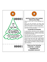 Living Tree Tyvek Tag w/Wire (TT-715)