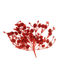 18'' Red Glitter Cone Bush (WS-GCB-R)