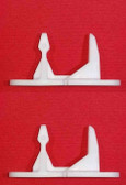 2 PACK - AP3580441 1032664 PS890617 Door Strike Striker For Frigidaire Washer