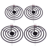 "MP22YA Electric Range Burner Element Unit Set 2- MP15YA 6"" 2- MP21YA 8"""
