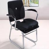 Egg Sitting Gel Flex Black Cushion Seat Sitter Flex Pillow Back Support