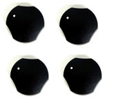 4 Pk 74009592 Knob Compatible with Maytag JennAir Cooktop WP74009592