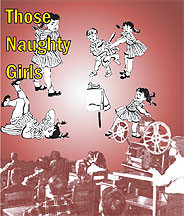 Those Naughty Girls DVD
