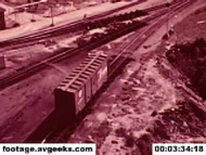 1950s stock footage - the freight train on DVD