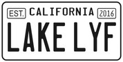 Lake Lyf License sticker