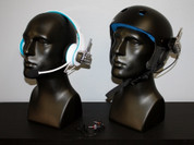 NON-Waterproof Headphones with Helmet Package