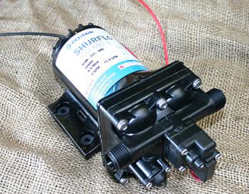Shurflo 12v DC bypass marine grade pressure pump