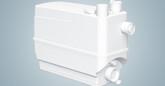 Grundfos Sololift2 C-3 Domestic Lifting Station for shower, sink, w/machine, dishwasher.