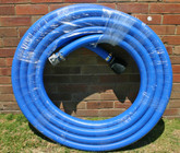 "20m length of 50mm Australian Made blue ""Nitrile"" flexible suction hose"