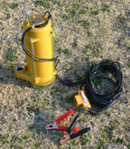 Versa-Matic (Porta-Matic) 12v DC submersible sump pump with cables