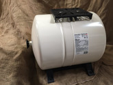 60 Litre Horizontal Pressure Tank with mounting plate and support feet