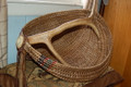 Elk Antler Basket Handmade by Janet Morgan