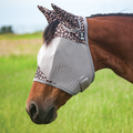 Cashel FlY Mask Standard with Ears Leopard