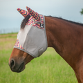 Cashel FlY Mask Standard with Ears Palms