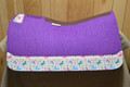 5 Star Barrel Racing Pad Purple n Unicorns