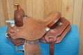 BD Kirkes Mark Allen Mounted Shooting Saddle 14.5