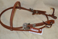 Martin Saddlery Headstall Roughout Spinner Buckles