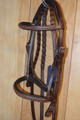 Horze Harrison English Bridle Padded and Fancy Stitching