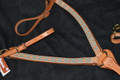 Dale Martin Antiqued Copper Spotted Western Breast Collar