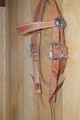 Handmade Ranch Western Headstall Herman Oak