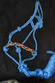 Beaded Rope Halter Turquoise