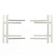 "Stone & Wiper Set, Rack Set, 4.00"" - 6.25"" - RSI-15530"