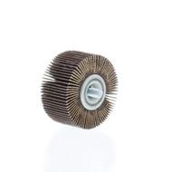 "2"" dia., 80 grit - Abrasive Flapwheels - 1"" wide, 1/4"" x 20 thread - FW-2-80"