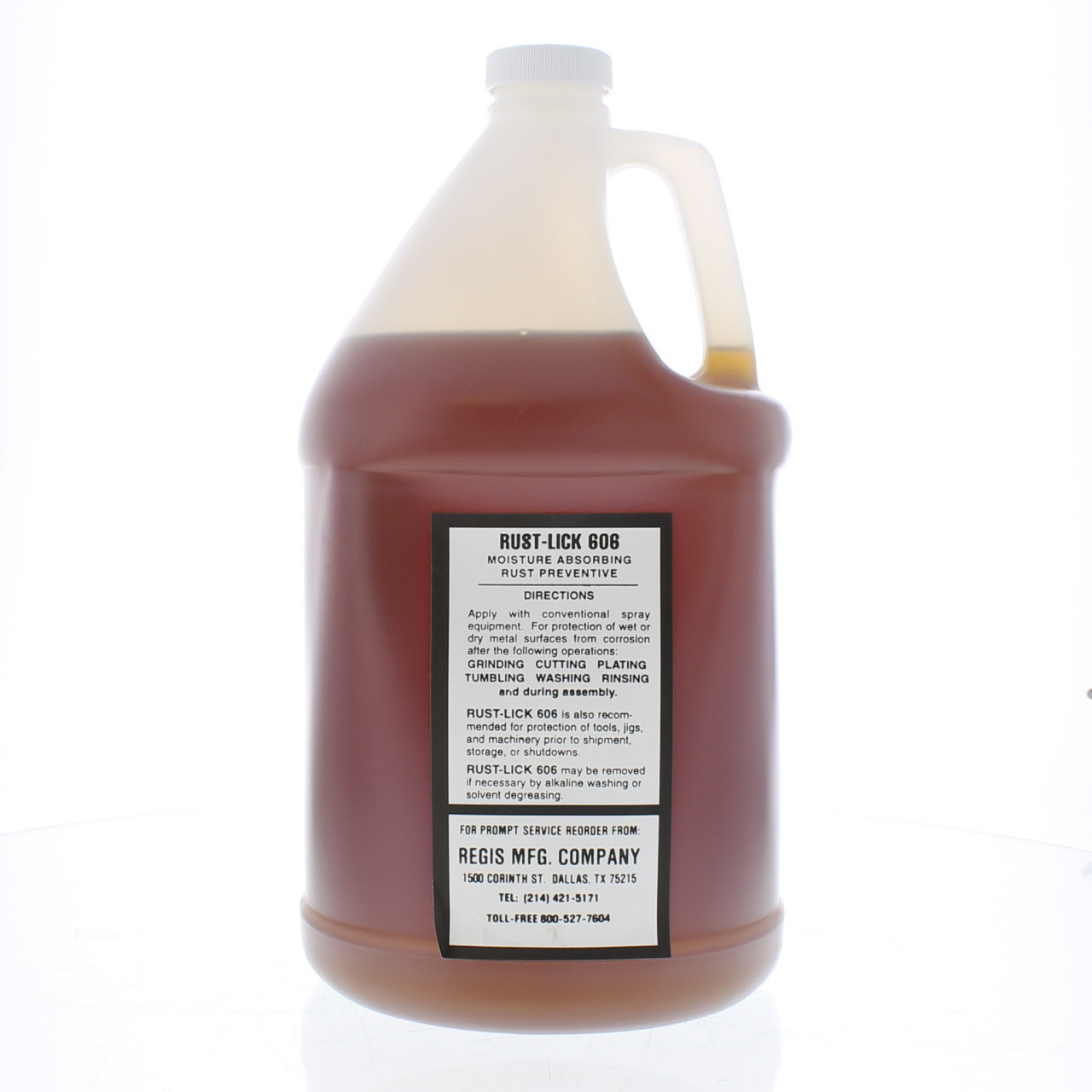Rust Proofing Spray Rustlick 606 - 1 Gallon - REGIS