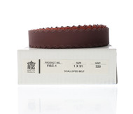 "Scalloped-Edge Belts, 1"" x 91"" 320 grit - FISC-1"