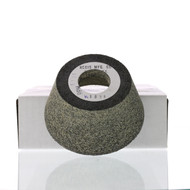 "4/3 X 2-1/8"" X 1-1/4"" - 2-1/8"" tall Flywheel Grinding Stone K-1058"