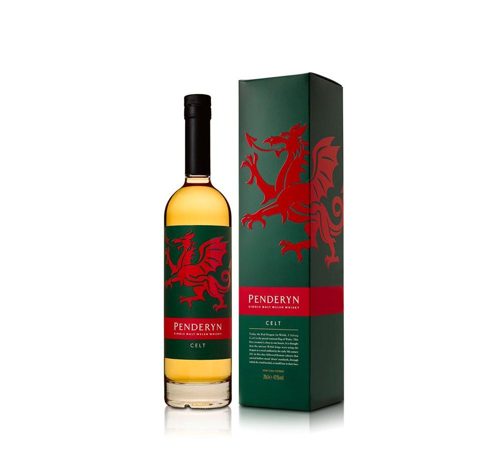 Penderyn Celt Peated Whisky 70cl