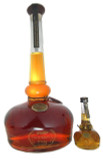The behemoth bourbon bottling contains 1.75 L of whiskey! Minature Willet included for scale, does not come with purchase.