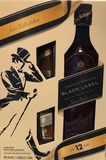 Johnnie Walker Black Label, 12 Year Old, Gift Pack