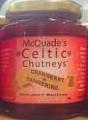 McQuade's Celtic Chutney,  Cranberry & Tangerine