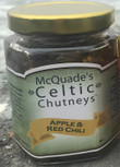 McQuade's Celtic Chutney, Apple & Red Chili (Very Spicy)