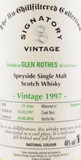 Glenrothes 21 Year Old, 1997, Un-Chillfiltered by Signatory Vintage