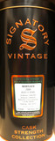 Mortlach 11 Year Old, 2009, Cask Strength by Signatory Vintage