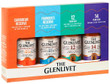 Glenlivet Tasting Kit 4 x 50ml Bottles