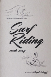 Surf Riding made easy