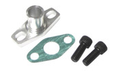 ISR Performance GT Oil Drain Flange Integrated 5/8 male neck (fits GT15-GT35 BB Turbos)