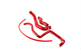 ISR Performance Silicone Radiator Hose Kit Nissan 350z 2003-2006 - Red
