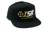ISR Performance Black Snap Back Hats
