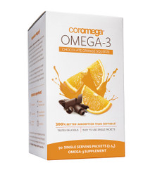 Omega-3 Squeeze Chocolate Orange - 90 Sachets