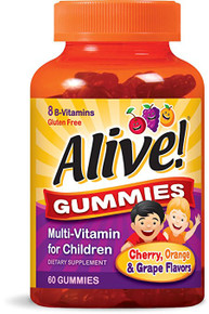 Nature's Way Alive! Multi-Vitamin Gummies for Children, 60 Count