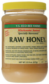 Y.S. Eco Bee Farms ORGANIC Raw Honey - 22 oz