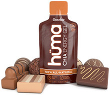 Huma Chia Energy Gel, Chocolate,  1x Caffeine